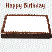Generate Your Photo on Happy Birthday Photo Cake Picture