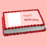 Online Photo Cake Generator With Custom Text Free. Personalize Photo Cake With Name Online. Edit Birthday Cake With Your Photo Online. Put Picture on Birthday Cake