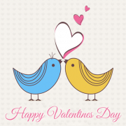 Love Birds Frame With Your Photo and Name For Valentine Day. Create Valentine Day Frame With Custom Photo. Write Name on Valentine Day Photo Frame Picture Online