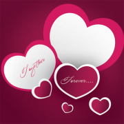 Together Forever Love Heart Photo Frame Generator