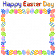 Create Happy Easter Day Greeting Frame With Your Photo. Easter Day Pics With Custom Photo For Whatsapp Profile Pics. Best Easter Day Wish Card With Your Photo