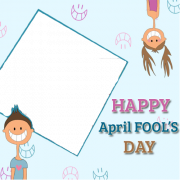 Create Happy April Fool Frames and Greeting With Your Photos