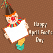 April Fool Photo Frame With Funny Joker and Custom Photos