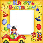 Create Cute Birthday Wishes Photo Frame With Custom Photo